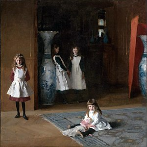 John Singer Sargent - The Daughters of Edward Darley Boit, 1882, Museum of Fine Arts, Boston