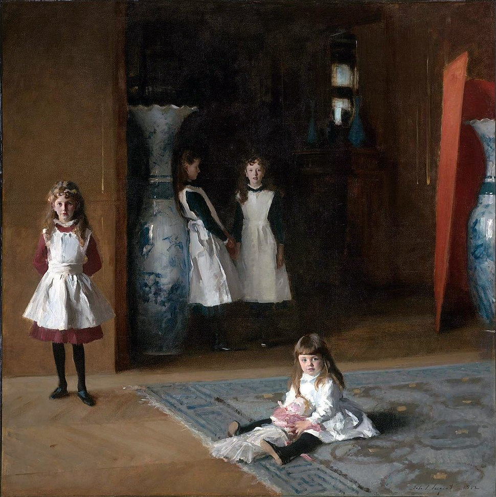 The Daughters of Edward Darley Boit, John Singer Sargent, 1882 (unfree frame crop)