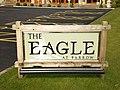 The Eagle at Barrow, Sign - geograph.org.uk - 1201062.jpg
