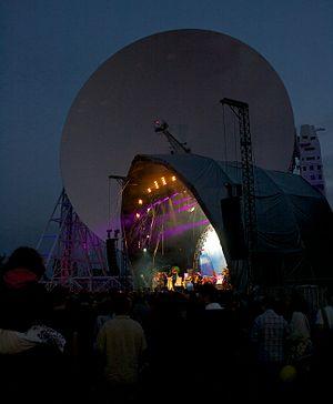 The Flaming Lips - The Flaming Lips performing at Jodrell Bank Observatory