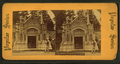 The Garfield Obsequies at Cleveland, Schofield vault, temporary resting place of the remains, from Robert N. Dennis collection of stereoscopic views.png