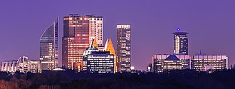 Randstad - Image: The Hague Skyline Part II