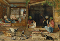 The Kibab Shop, Scutari, Asia Minor, John Frederick Lewis, 1858.png