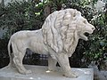 The Lion statue in Simta Plonit str., Tel Aviv.JPG