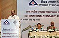 The Minister of State (Independent Charge) for Consumer Affairs, Food and Public Distribution, Professor K.V. Thomas addressing at World Standards' Day seminar, organized by the Bureau of Indian Standards, in New Delhi.jpg