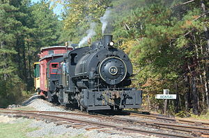 New Hope Valley Railway - Image: The New Hope Valley Railway excursion train