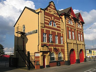 Bordesley Green - The old fire station in Bordesley Green