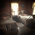 The Oregon Hotel (Mitchell, Oregon). Interior of one of the rooms. (2).jpg