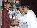 The President Dr. A.P.J. Abdul Kalam presenting the Arjuna Award -2005 to Shri Tarundeep Rai for Archery, at a glittering function in New Delhi on August 29, 2006.jpg