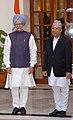 The Prime Minister, Dr. Manmohan Singh with the Prime Minister of Nepal, Shri Madhav Kumar Nepal, in New Delhi on August 19, 2009.jpg