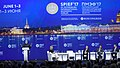 The Prime Minister, Shri Narendra Modi addressing the plenary session of St. Petersburg International Economic Forum (SPIEF2017), in St. Petersburg, Russia (1).jpg