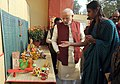 The Prime Minister, Shri Narendra Modi visiting the Varanasi Mahotsav Exhibition at BHU, in Varanasi, Uttar Pradesh on December 25, 2014.jpg