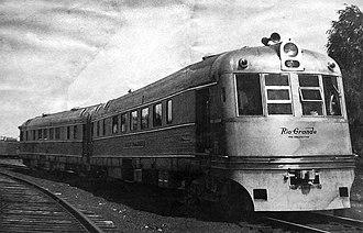 Budd Rail Diesel Car - Budd's Prospector in 1941.