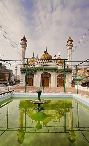 1753 in architecture - Sunehri Masjid, Lahore