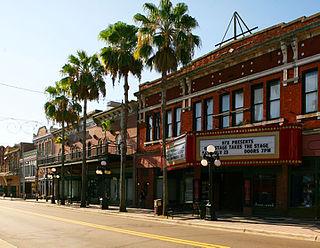 The Ritz Ybor theatre in Ybor City, Tampa, Florida