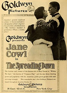 <i>The Spreading Dawn</i> 1917 American film directed by Laurence Trimble