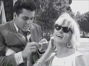 Richard Beymer - Richard Beymer and Joanne Woodward in The Stripper (1963)