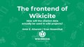 The frontend of Wikicite.pdf