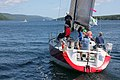 The sailboat Koobalibra, a C&C 115, competing in the Great Bras d'Or Cup, Leg 3 of Race the Cape 2013 05.jpg
