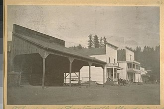 Laytonville, California - Laytonville in 1910