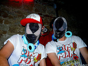 The Bloody Beetroots - Bloody Beetroots DJ Set in 2009