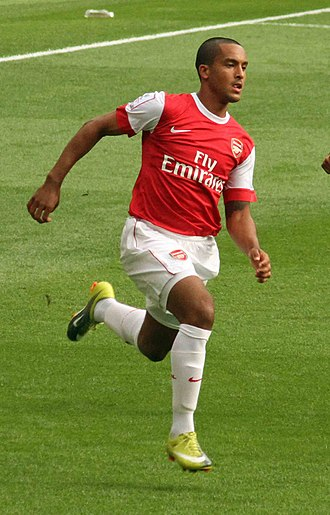 Theo Walcott - Walcott playing for Arsenal in 2010