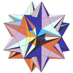 Как сделать третью форму звездчатого икосаэдра фото 182-619