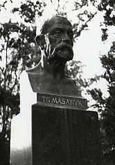 statue de Tomáš Garrigue Masaryk par Josef Mařatka