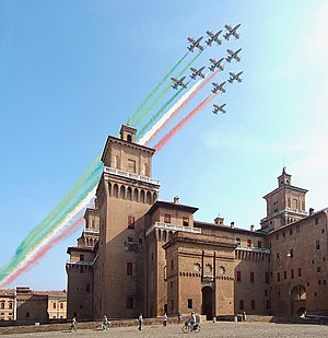 National symbols of Italy - Frecce Tricolori