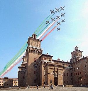 National symbols of Italy - Frecce Tricolori