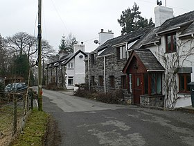 Three of the seven cottages at Melin-y-Coed - geograph.org.uk - 1802072.jpg
