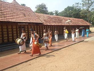 Thrikkakara Temple - Seeveli at Thrikkakara temple