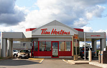 A Drive Through Only Tim Hortons Location In Moncton New Brunswick Canada