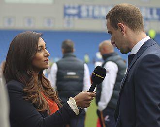 Tina Daheley - Daheley interviews former England women's national football team coach Mark Sampson.