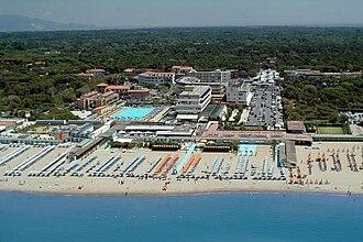 Tirrenia - View of Tirrenia beach