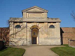 Folkingham - Gate of the House of Correction by Bryan Browning