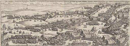 Tocht van Maurits door Brabant naar Grave, 1602, Lambert Cornelisz., 1603