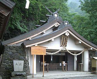 Togakushi Shrine - The upper shrine Oku-sha