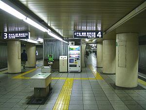 Kokkai-gijidō-mae Station - Chiyoda Line platform