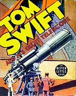 Tom Swift and His Giant Telescope (1939), from the original Tom Swift series.