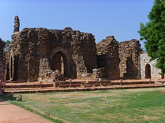 Alauddin Khalji - Tomb of Alauddin Khalji, Qutb complex, Delhi.