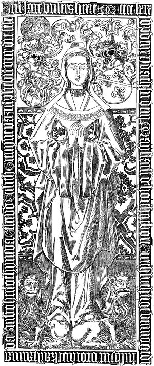 Catharine of Bourbon - Tombstone of Catherine of Bourbon in the St. Stephen Church in Nijmegen