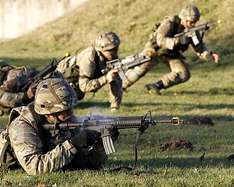 His Majesty's Armed Forces (Tonga) - Tongan troops training in England with the Royal Air Force Regiment in 2010.