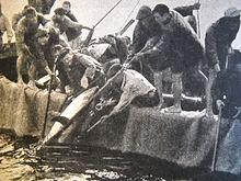 Tonnara di Scopello, foto del 1947
