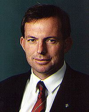 Tony Abbott - Tony Abbott in 1996