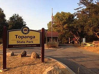 Topanga State Park - Image: Topanga State Park, Trippet Ranch entrance