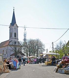 Pečarovci Place in Prekmurje, Slovenia