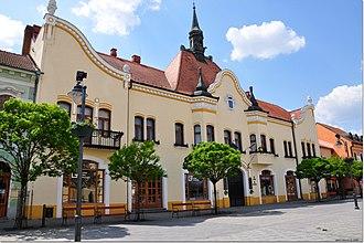 Topoľčany - Town hall in Topoľčany