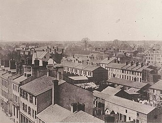 Armstrong, Beere and Hime panorama - Image: Toronto 1856 2