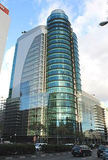 La nuova El Corte Inglés della Torre Titania di Madrid.